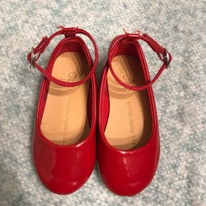 Little girl ankle strap Mary Janes by Gap
